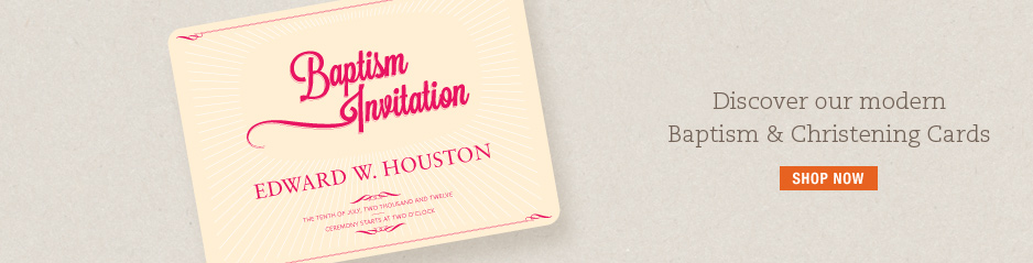 Baptism Invitations and Holy Christening Invitations