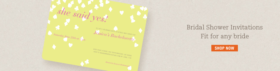 Bridal Shower Invitations and Wedding Shower Invitations