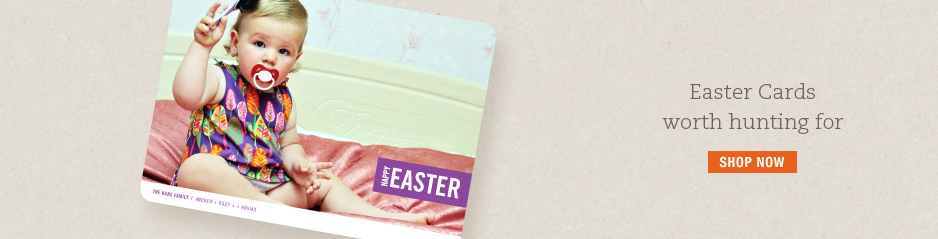 Easter Cards and Easter Photo Cards from Paper Culture