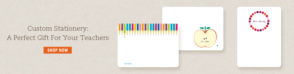 Personalized Stationery, Note Cards &amp; Thank You Cards